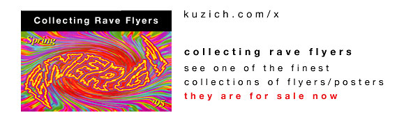 link to John Kuzich's Collecting Rave Flyes website